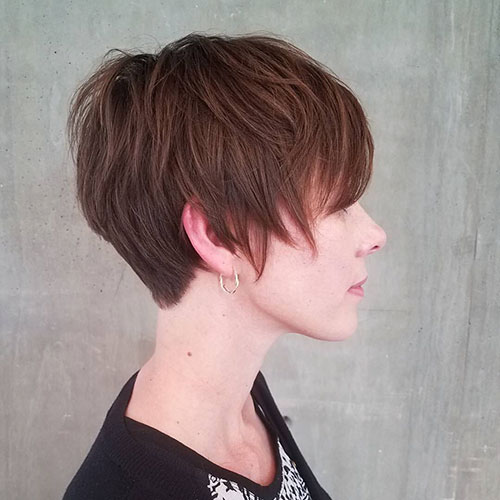 Short Thin Layered Hair