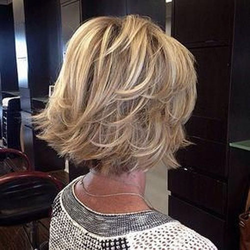 Layered Bob Hair Cut