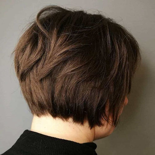 Pics Of Short Natural Haircuts For Round Faces