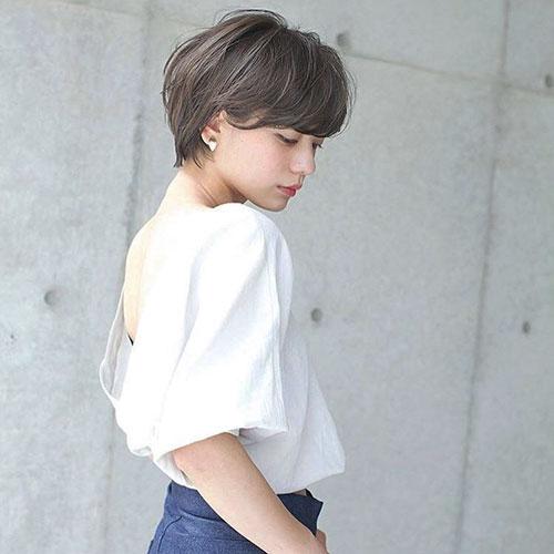 Short Layered Thin Hair