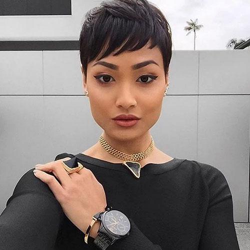 Short Black Pixie Hairstyles