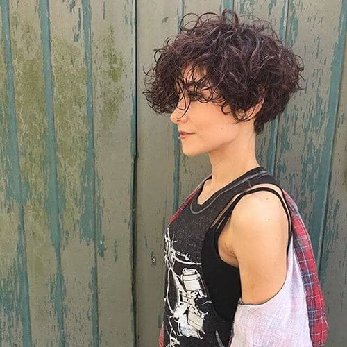 Very Short Curly Hair Pictures