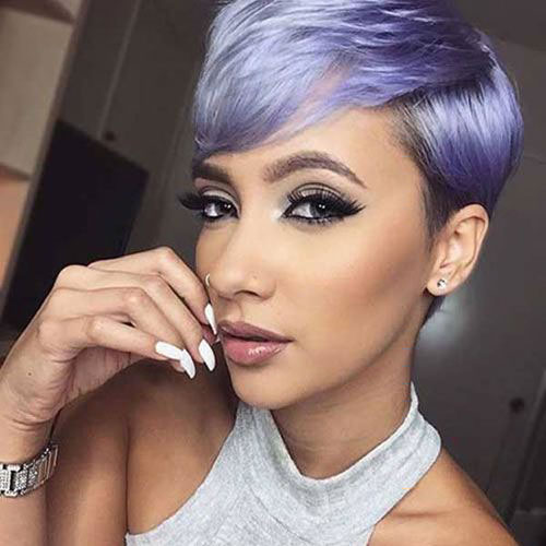Purple Pixie Hair Color