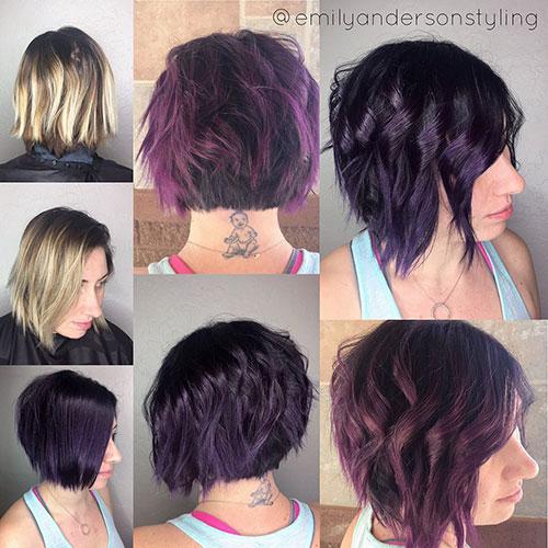 Cute Short Choppy Layered Hairstyles