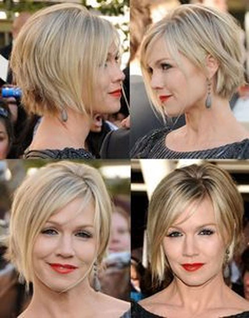 Short Layered Thin Hair