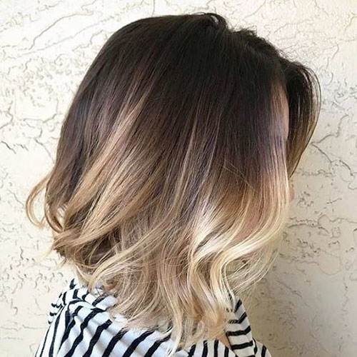 Ombre Hair Bob Cut