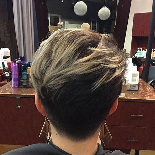 Short Thin Layered Hair