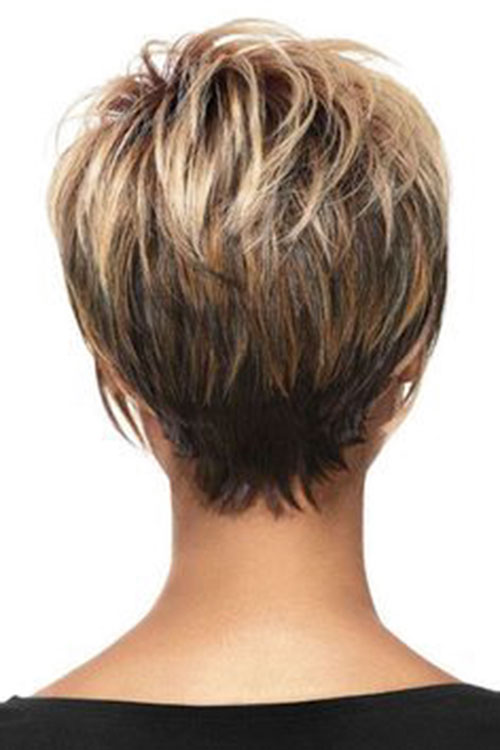 Short Layered Thin Hair Pictures