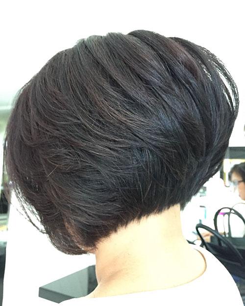 Layered Bob Hair Cut