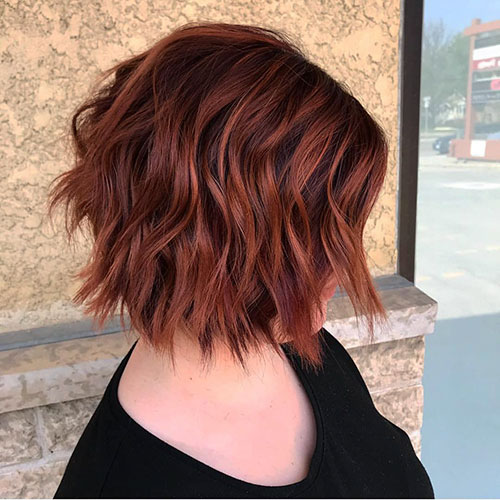 Short Choppy Layered Hair Pictures