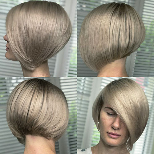 Pictures Of Short Hairstyles For Thick Hair