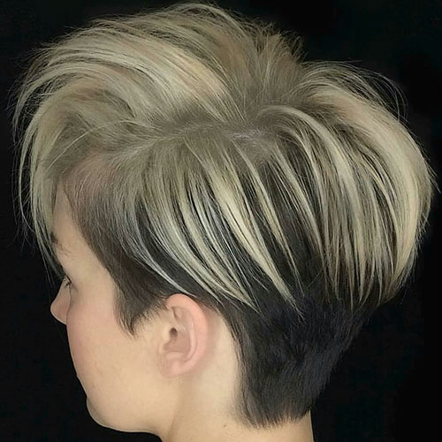 Short Undercut Hair