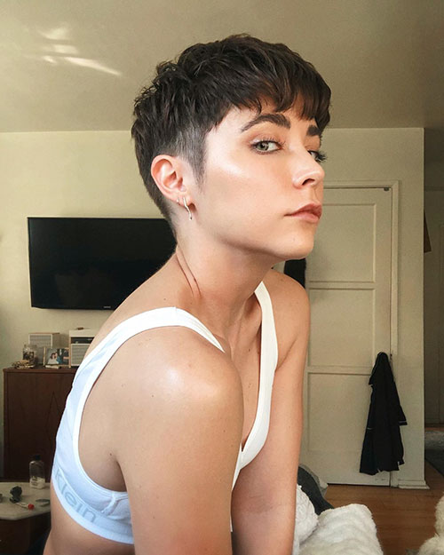 Short Shaved Haircuts