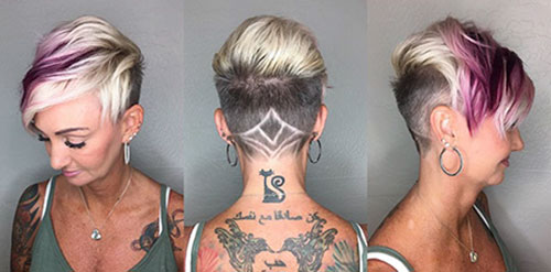 Undercut Ideas For Short Haircut