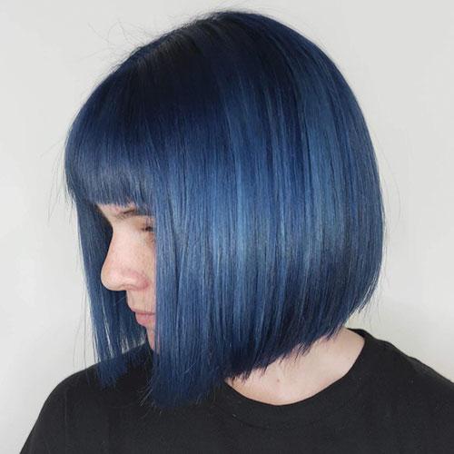 Blue Short Haircuts