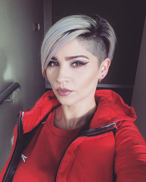 Short Shaved Hairstyles
