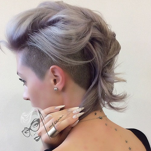 Undercut Designs For Short Hair