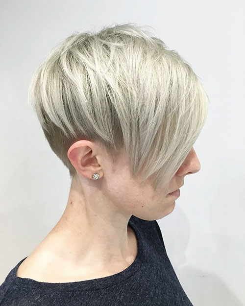 Short Undercut Hair Images