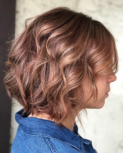 Short Wavy Hair Ideas