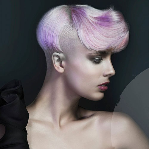 Hair Color Designs For Short Hair