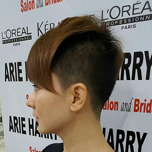 Short Shaved Haircut Ideas