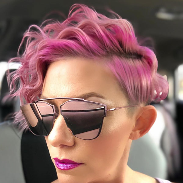 Pink Pixie Hair Pictures