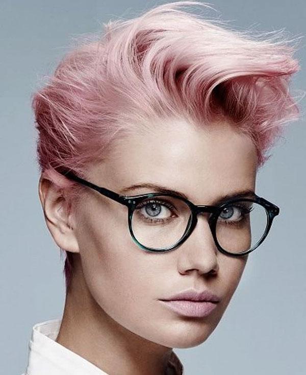 Pink Pixie Hair Ideas