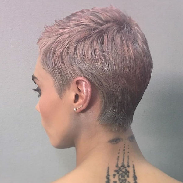 Pink Pixie Haircut Pictures