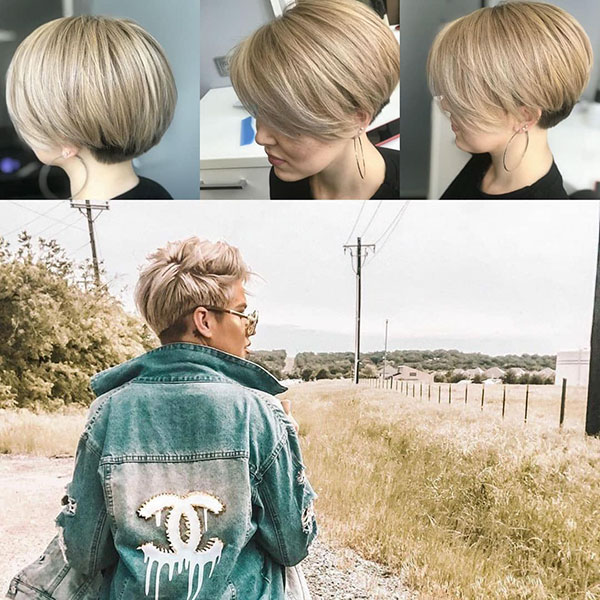 Short And Nape Hair