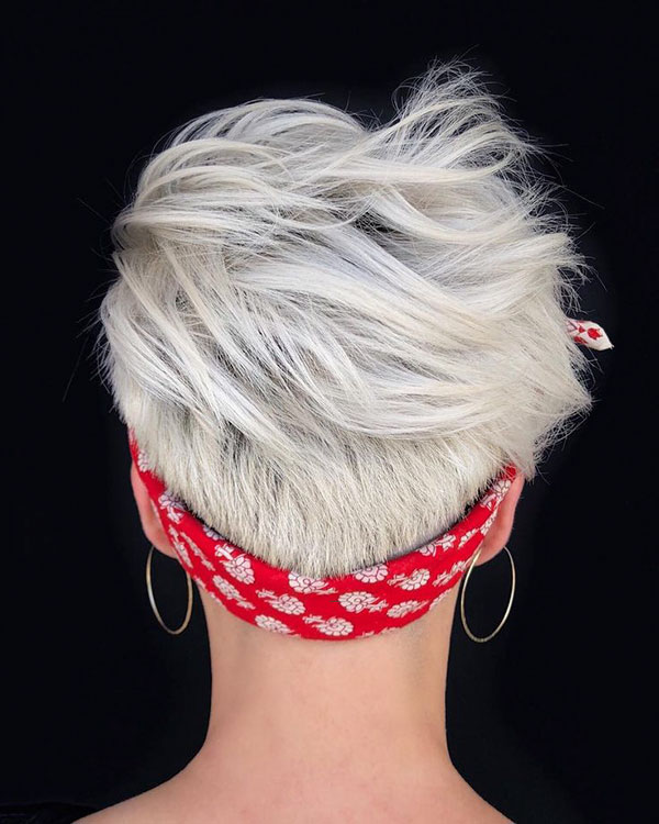 Pictures Of Short Nape Haircuts