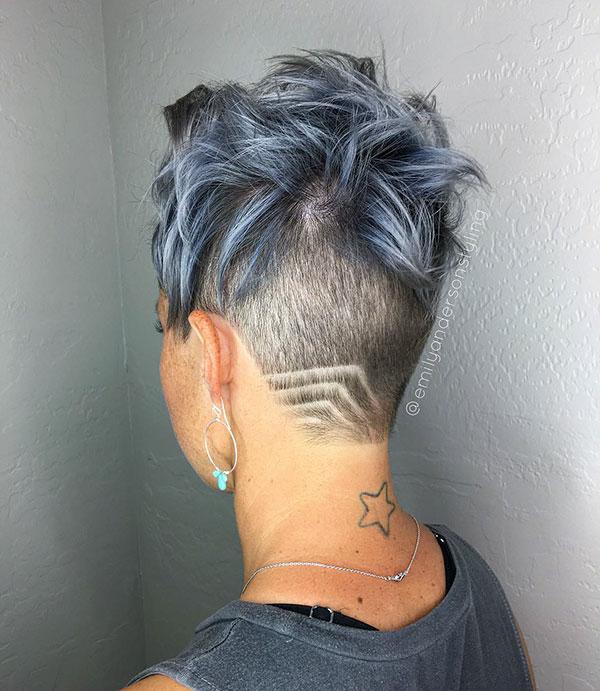 Undercut Designs For Short Hair