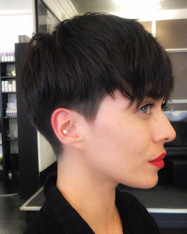 Ideas Of Short Nape Haircuts