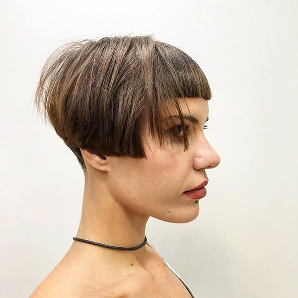 Short Nape Haircut Images