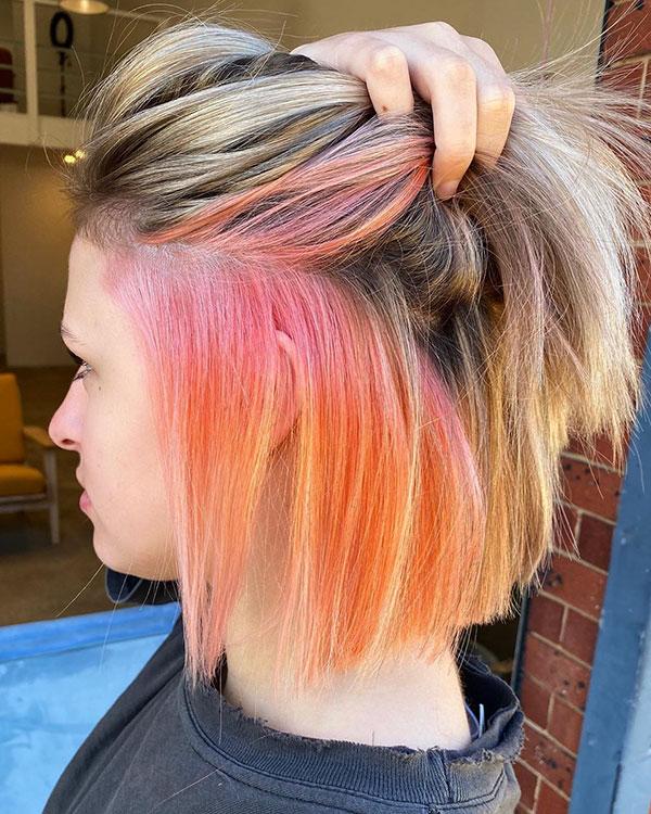 Images Of Short Orange Hair