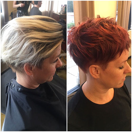 Short And Layered Hairstyles