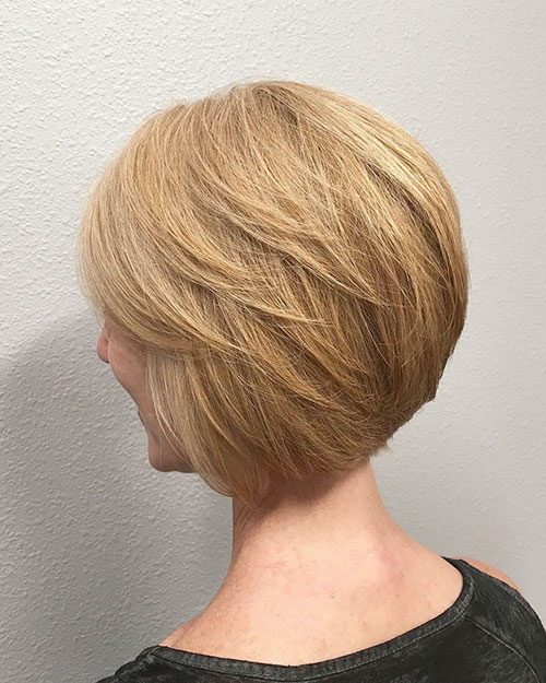 Short And Layered Haircuts