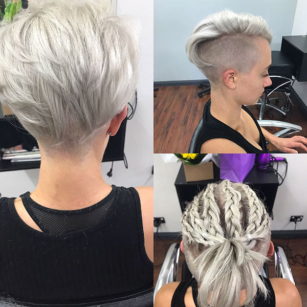 Short Light Blonde Hair Color