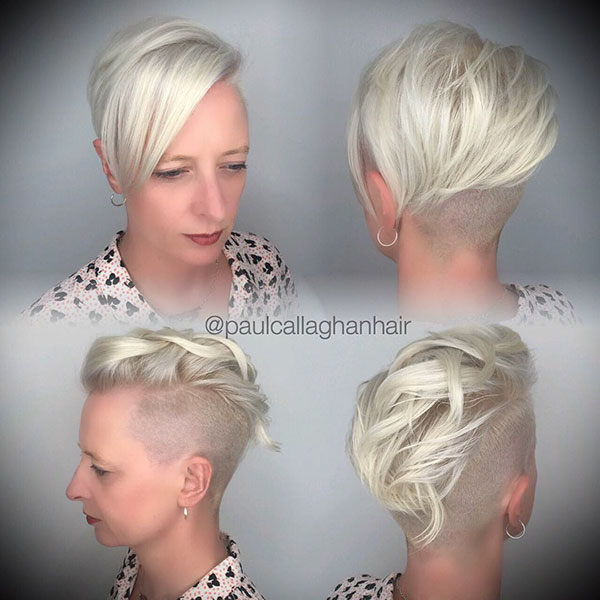 Hairstyles For Short Light Blonde Hair
