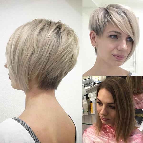 Short Light Blonde Hair Styles