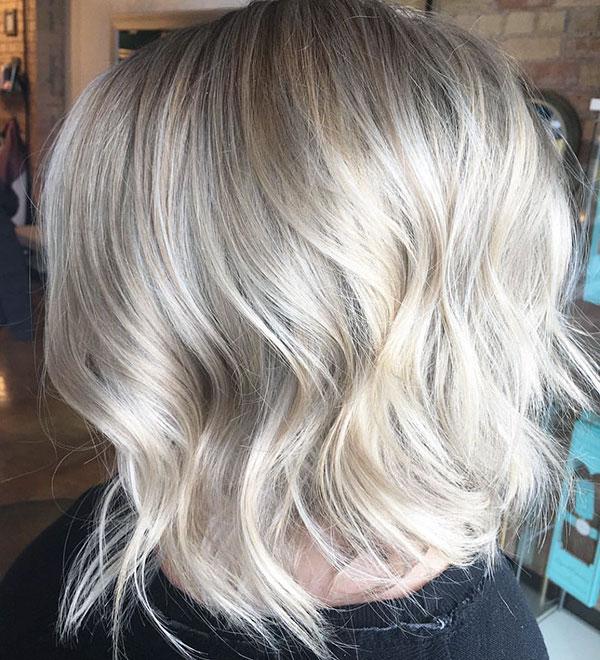 Short Light Blonde Hairstyles