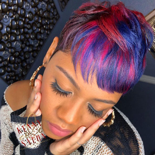 Short Hair Cuts On Black Women