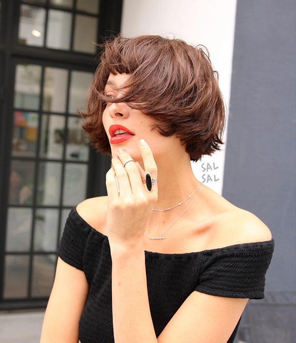 Short Sleek Hair Ideas