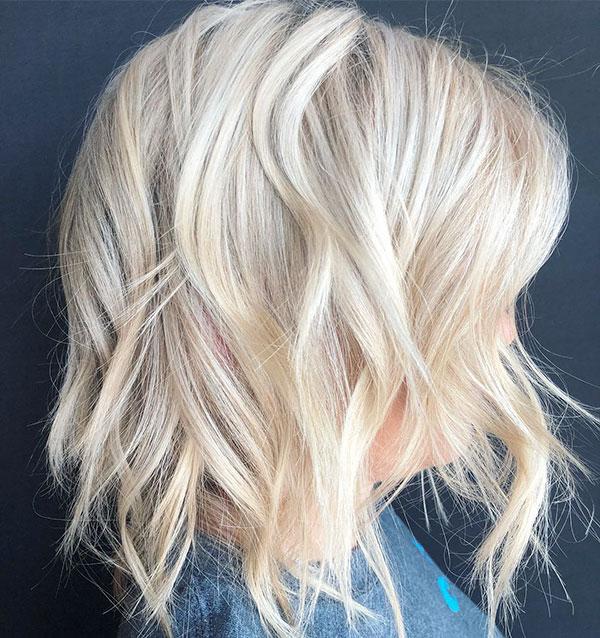Short Light Blonde Hair Images